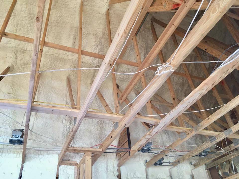 Open-cell Spray Foam Insulation Gulfport, MS